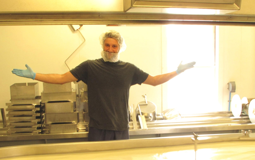 Plymouth artisan cheese cheesemaker Jesse Werner