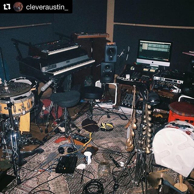 "#Repost @cleveraustin_ with @get_repost ・・・ My debut album ""Pareidolia"" is dropping today!! Thank you to everyone involved in making this possible. ❤️❤️ @touching_bass @wondercoreisland @rythmoss @bendersblues @nap.king.cole @taylorchipacrawford @jbdufresne @mmsimonmm @laneous @georgia.muldrow @jonbap @cazeauxoslo"
