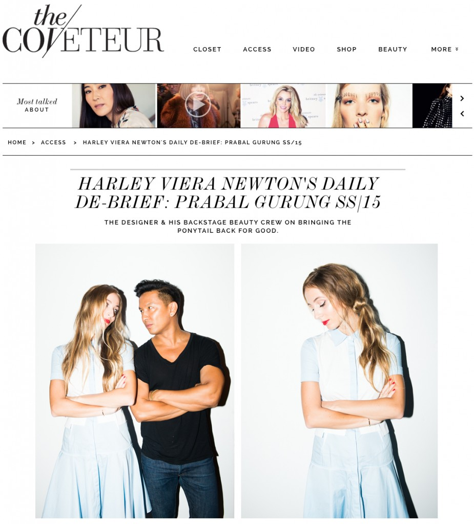THE COVETEUR