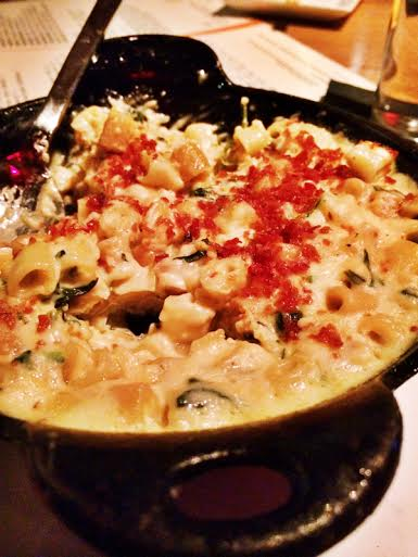 Mac & Cheese ~ Smoked Gouda ~ Crispy Prosciutto