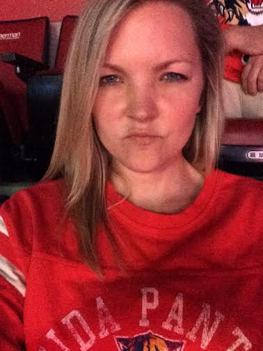 My hockey game face.