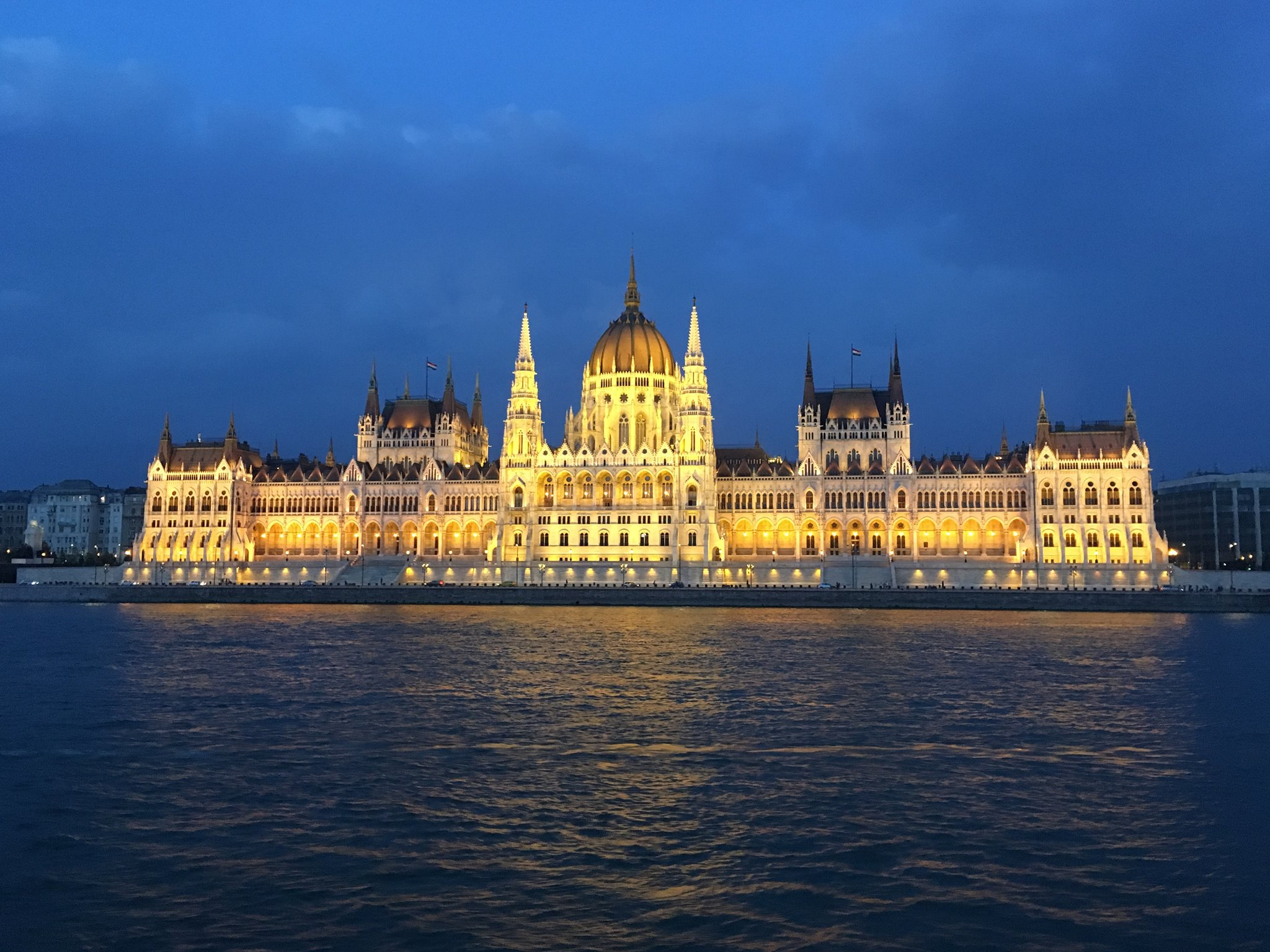 Parliament from the Danube River