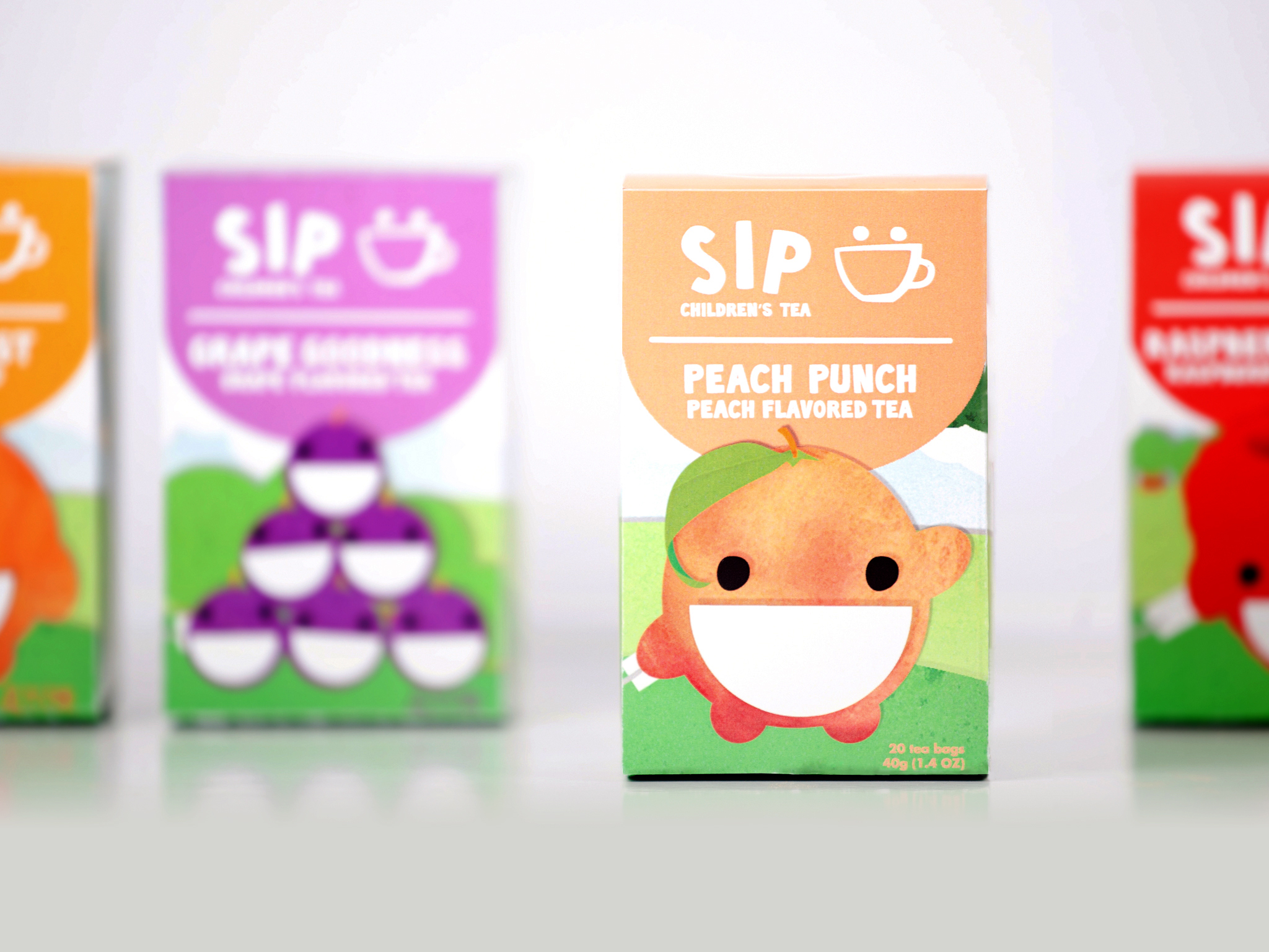 Sip Tea  Branding & packaging