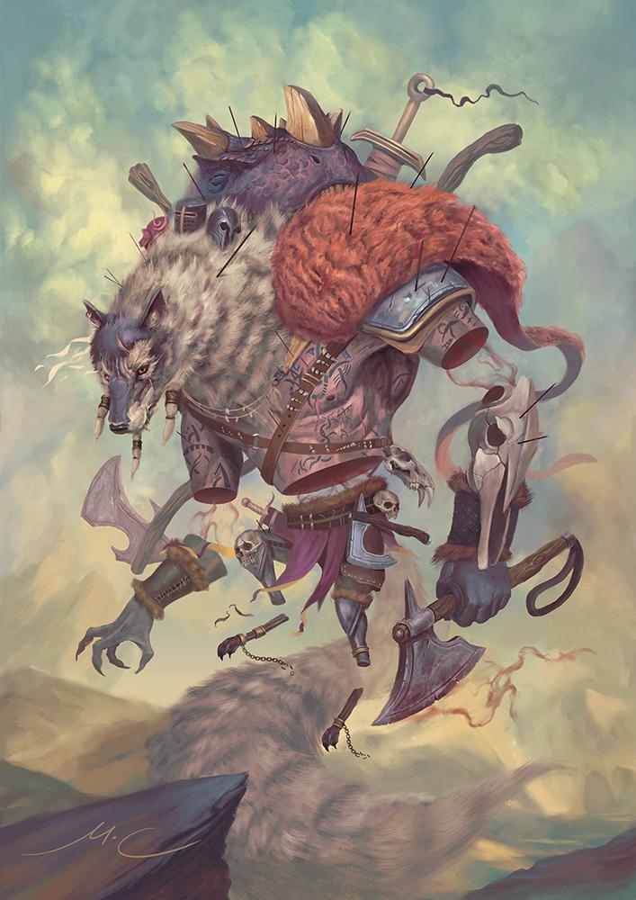 Bahrbaros, the Unbridled Fury