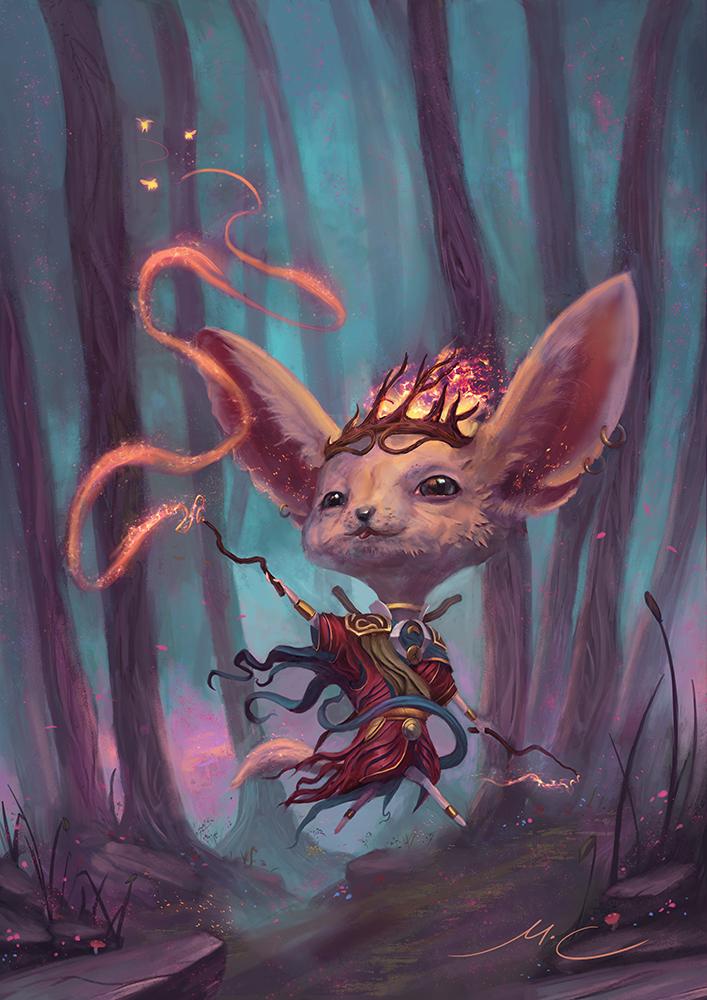 Kizha, the Kindling Flame