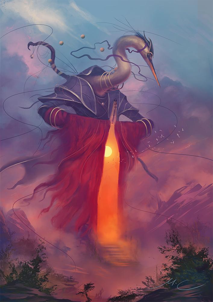 Reilidal, the Towering Veil