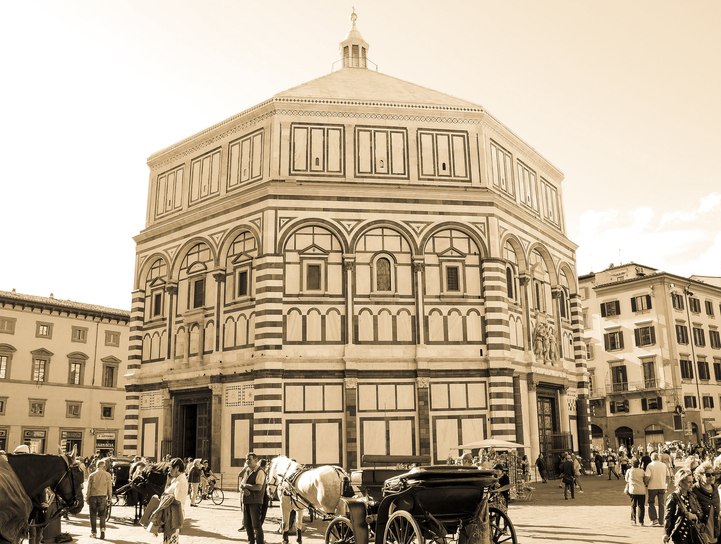 The Baptistery of St. John - Florence, Italy