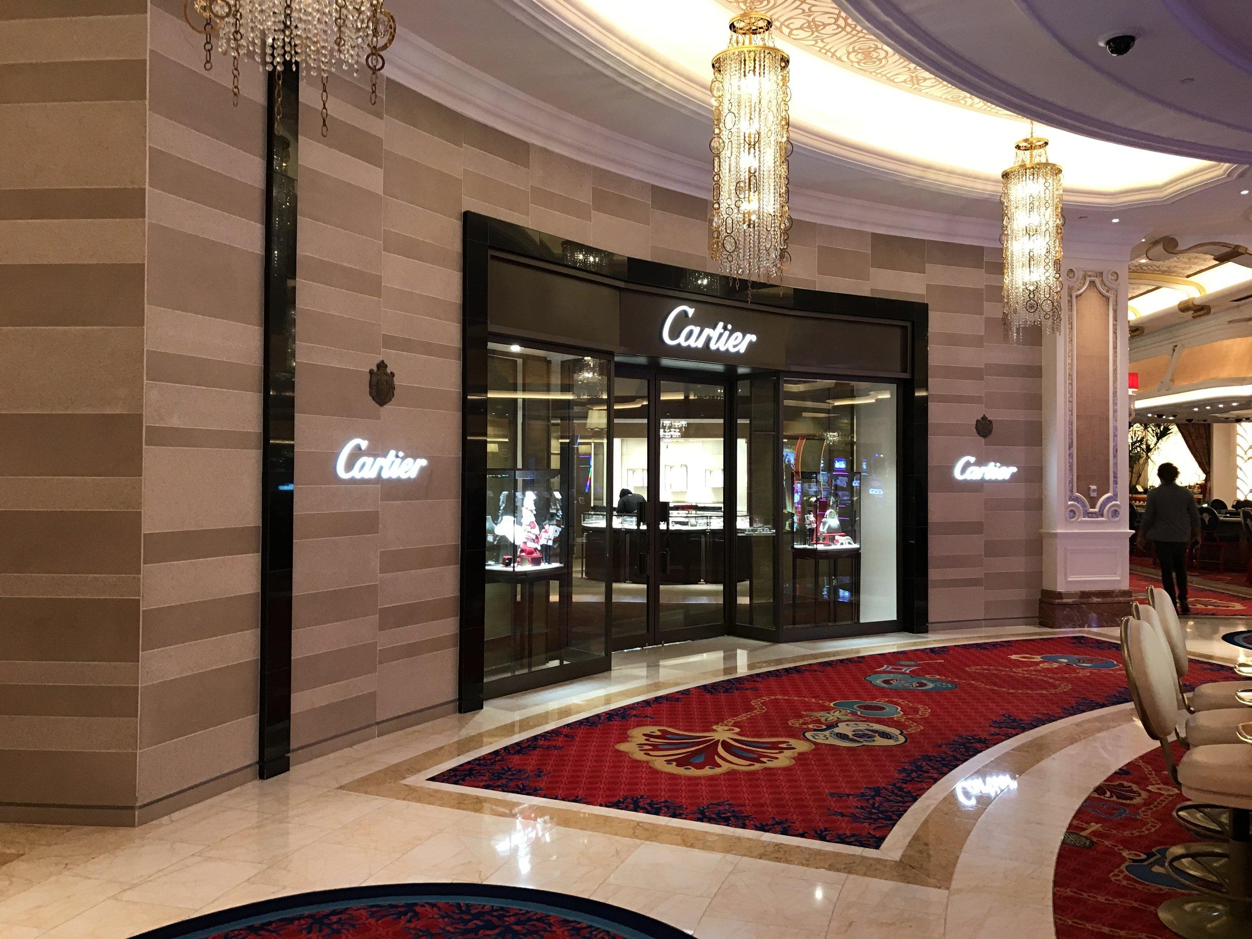 Cartier Store - Nassau, Bahamas