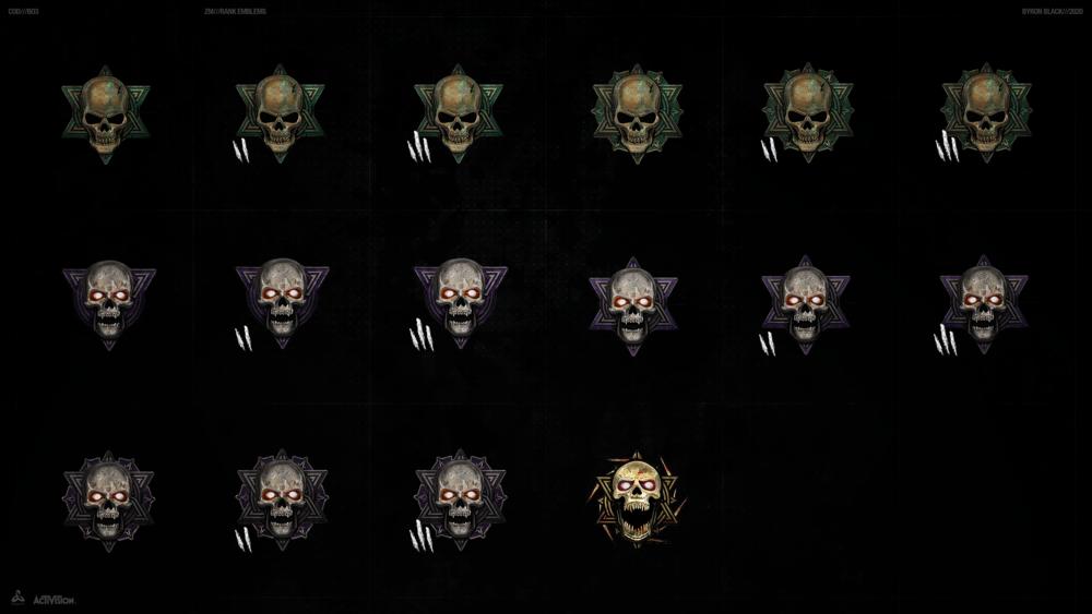 Bo3 Zombies Ranks