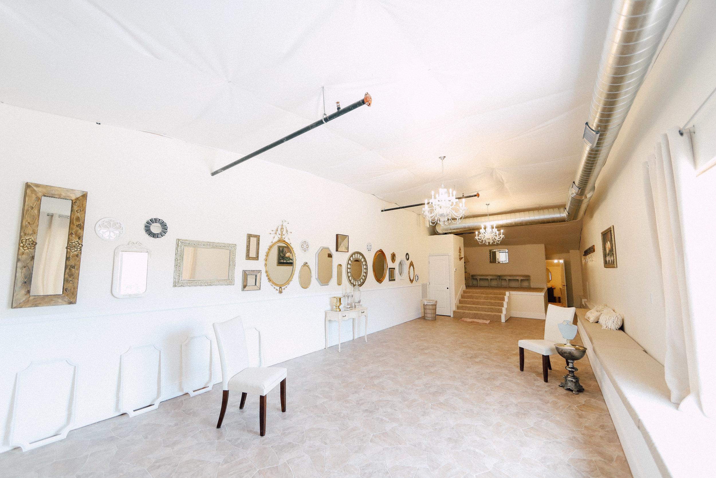 Bridal Suite Mirror Wall