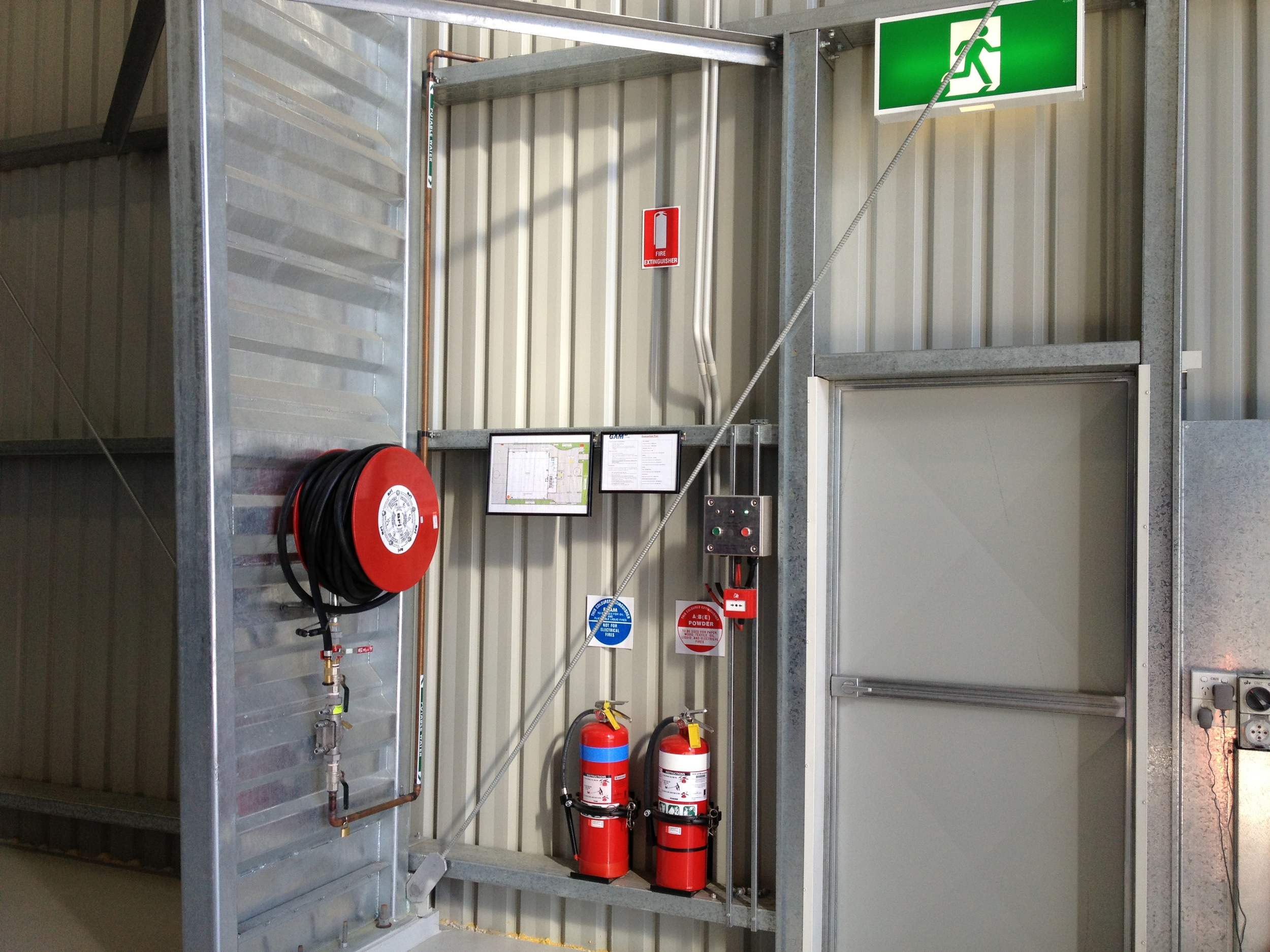 Hangar Fire Exit.JPG