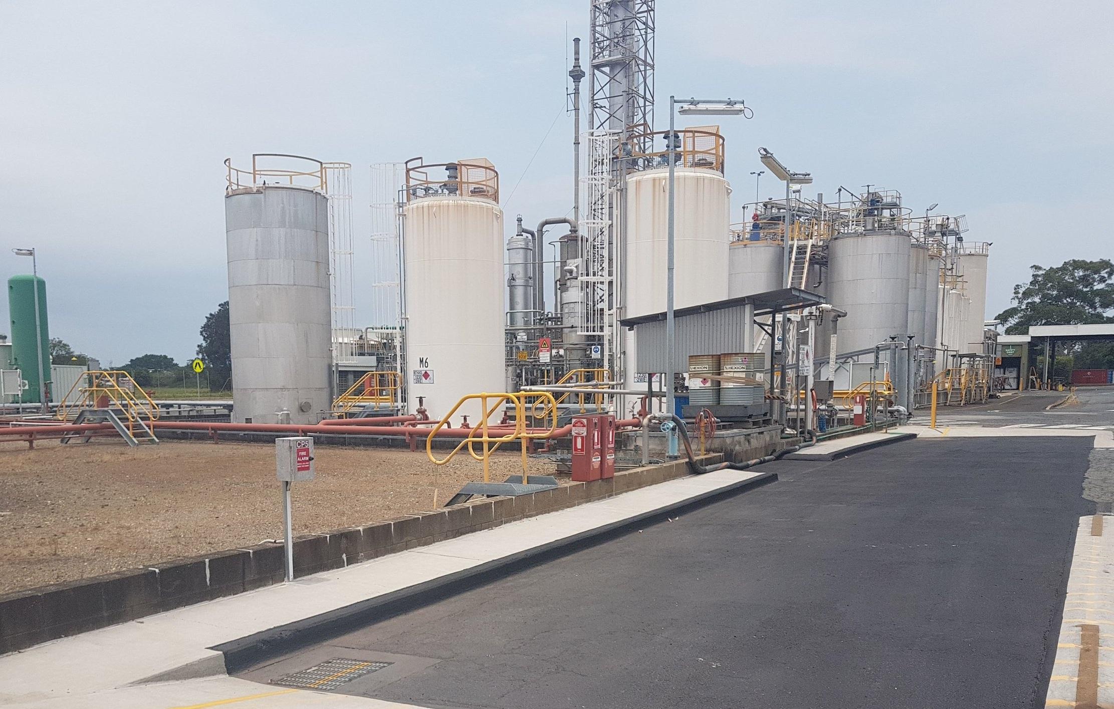 Chemical Plant- Brisbane