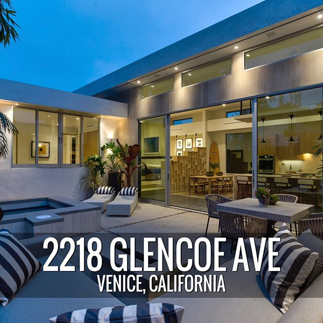 2218 GLENCOE AVE |  3 BED + 2.5 BATH | $2,850,000 . We previously sold this single-story #midcenturymodern Venice gem for a record breaking $1,225 ppsf in two-days at $50,000 over asking. . Property info —  www.jackietheis.com/properties (link in bio) . #happyclient #designbuildsell #soldrealestate #venicebeach #losangelesrealestate #midcentury #clerestory #linearbrick #realtorsofinstagram #milliondollarlisting #bosshomes #homegoals