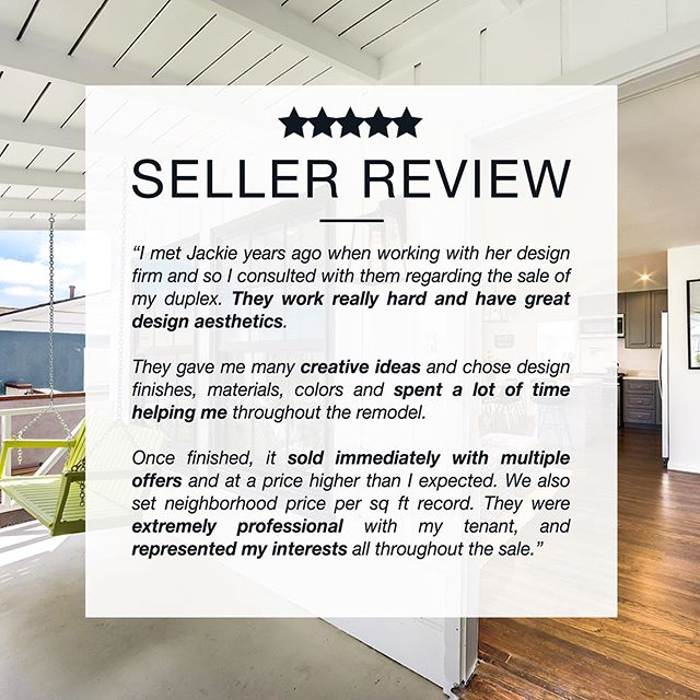 Creative & Great Design Aesthetic  This. Is. Everything. 💛 #happyclients such as this make every single #aboveandbeyond thing we do all that more satisfying. #valueadd  View more compliments —  www.jackietheis.com/testimonials (link in bio)  #happyclient #compliment #testimonial #thankyou #TYVM #realestatetestimonials #listingagent #soldrealestate #realtorsofinstagram #losangelesrealestate #milliondollarlisting #bosshomes #homegoals