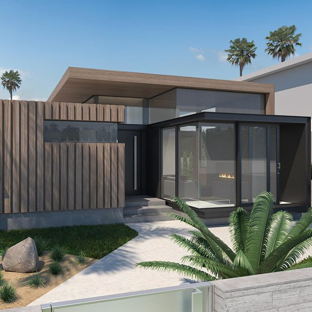 2478 GLYNDON AVE |  4 BED + 4.5 BATH  In 💛 with this design!! Our latest #midcenturymodern project is under construction and expected to hit the market August 2019.  Floor plan —  www.jackietheis.com/properties (link in bio)  #midcentury #losangelesrealestate #venicebeach #milliondollarlisting #homeforsale #bosshomes #homegoals
