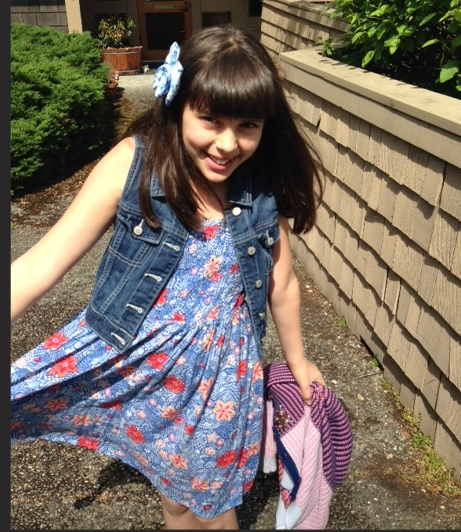 sunny day dress tween