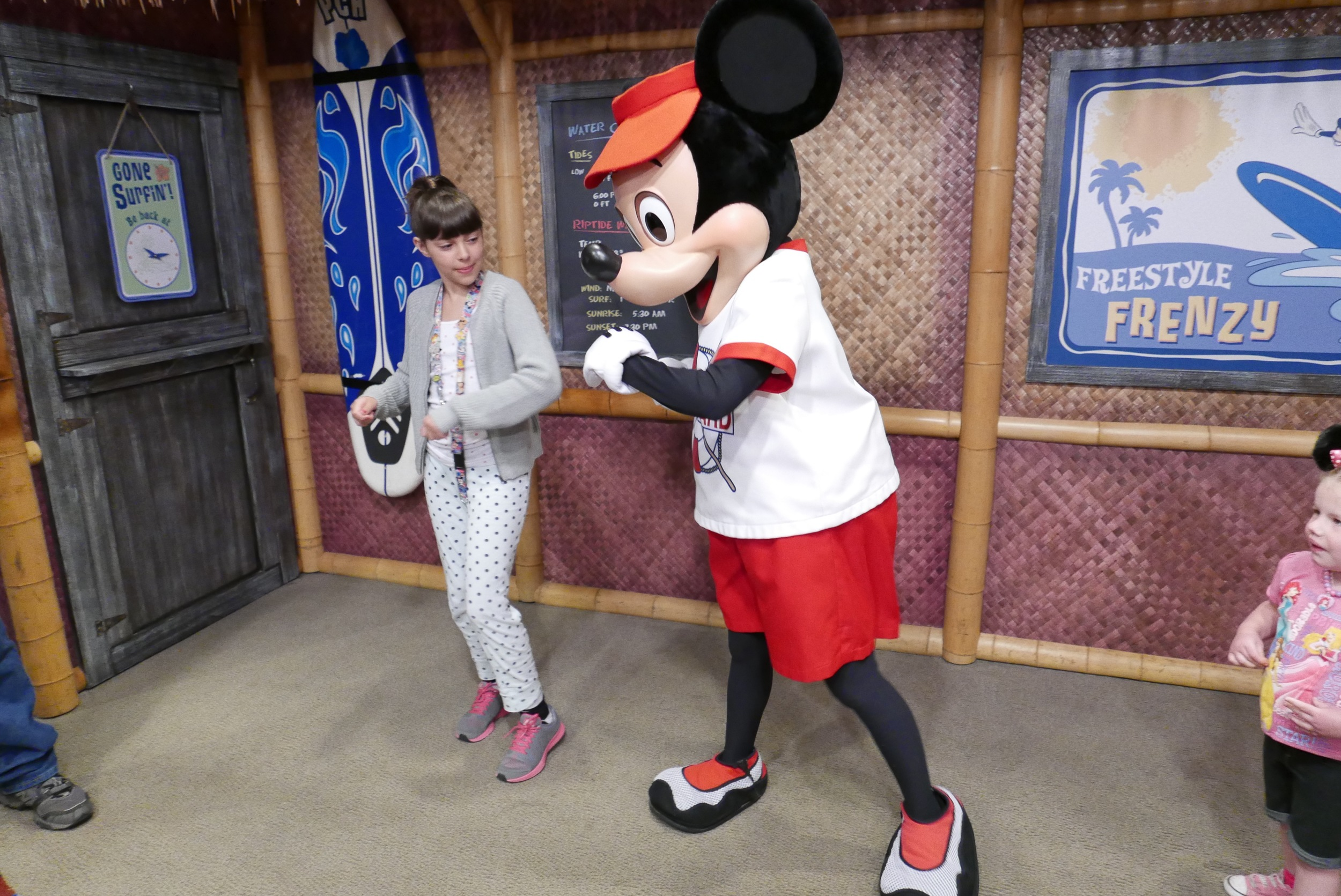 getting my dance on with Mickey