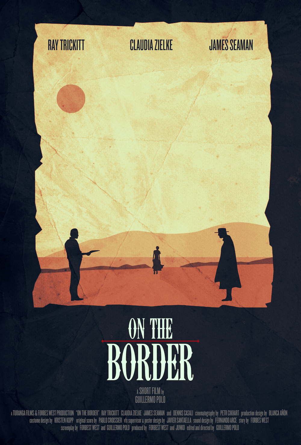 On the border directed by Guillermo Polo