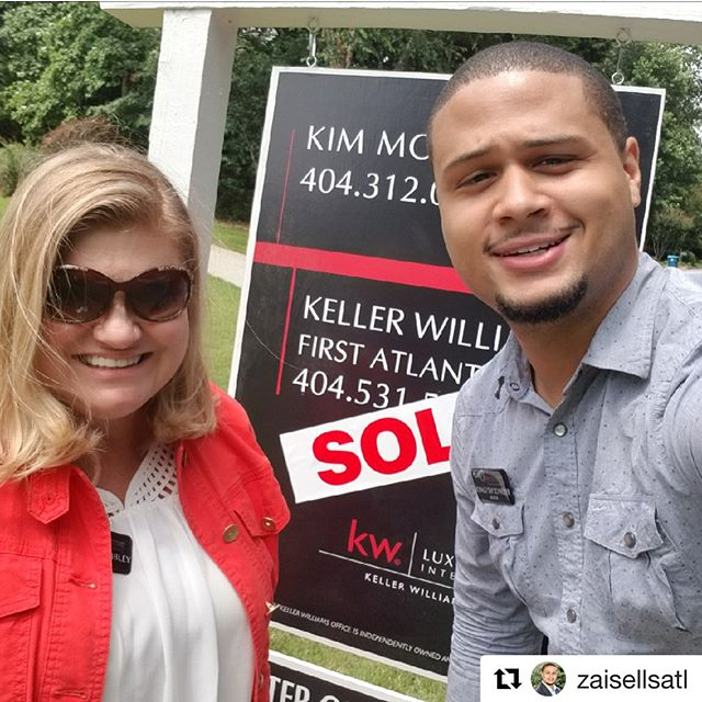 Go follow @zaisellsatl  Second closing this week out in Alpharetta, GA! We received a full price offer before the home even hit the market! Call me and let our team help you sell your home! #ZaiSellsATL #atlanta #homesforsale #realestate #ATL #realtor #realestateagent #georgia
