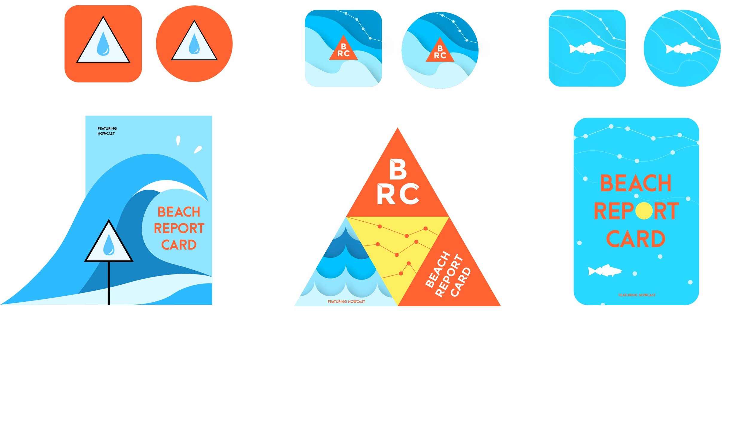 Heal The Bay - App Designs for the 'Beach Report Card' Program