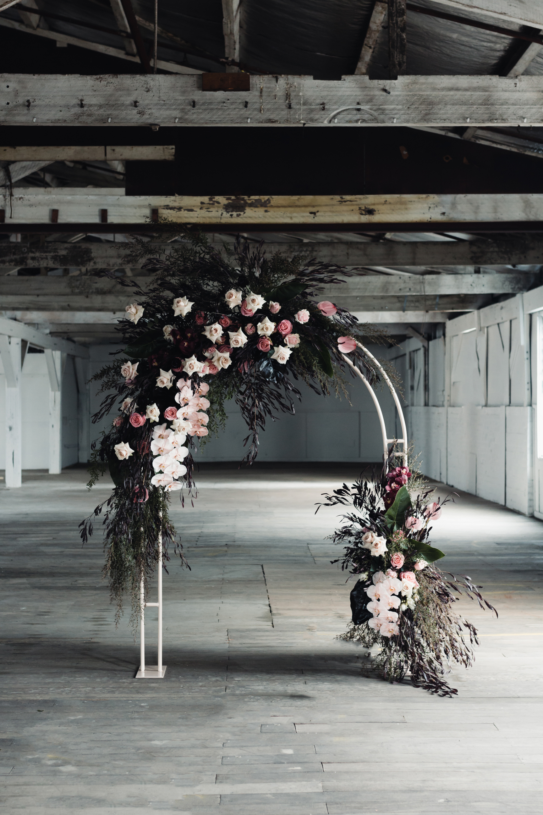 Photography - Bianca Virtue @biancavirtue Venue - Gather and Tailor @gatherandtailor Florals - Wild Flos @wildflos Stationery, Signage and Styling - @stateofreveriestudio