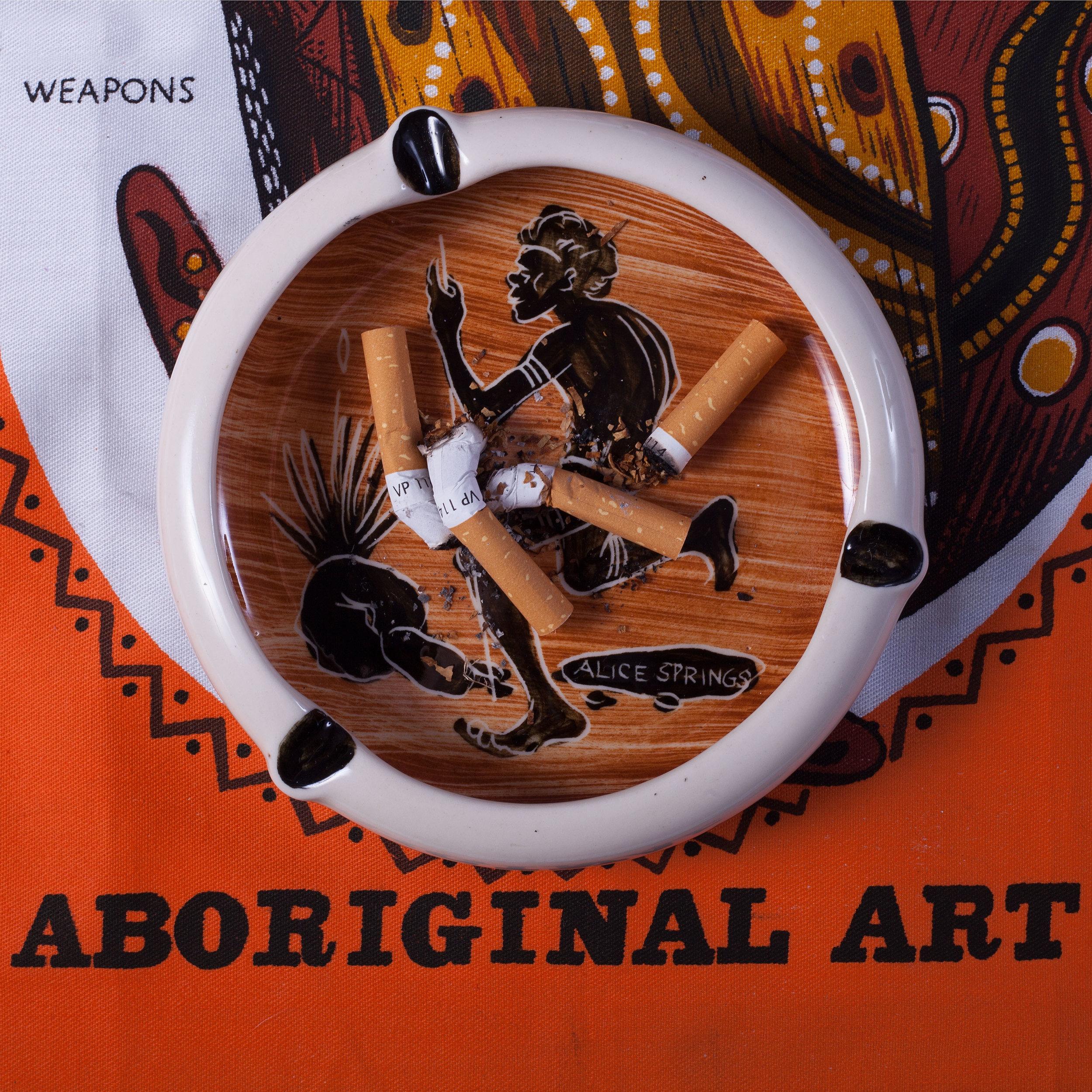 Tony Albert  Mid Century Modern - Aboriginal Art  2016 Pigment print on paper, 120 x 120cm edition of 3 + 2AP  Image credit: courtesy of the artist and Sullivan + Strumpf