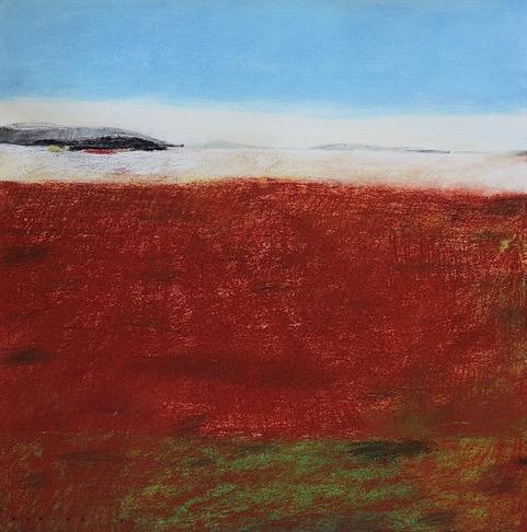 Rich Land, Potato Country (2017)  pastel, graphite on paper  50cm x 50cm