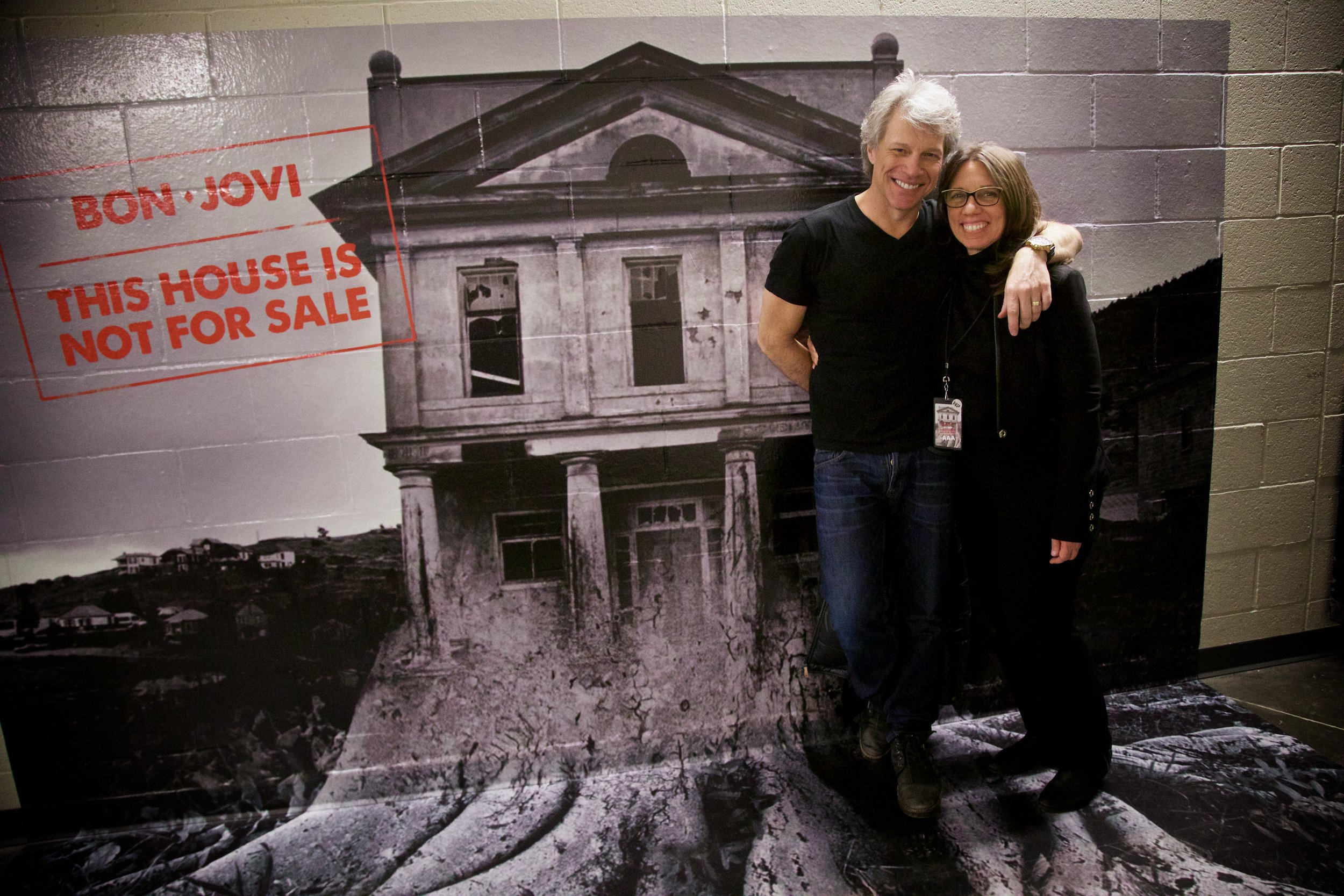 """In association with    Katie Agresta Vocal Studios   , Mary Jo served as the touring coach for Jon Bon Jovi's 2016 Listening Tour, and both the 2017 and 2018 U.S., South American, and Pan Asian Tours for his latest album """"This House is Not For Sale."""" Her work with the band is celebrated in Bon Jovi's most current book """"This House is Not For Sale"""" which chronicles the band's triumphant 2017 tour."""