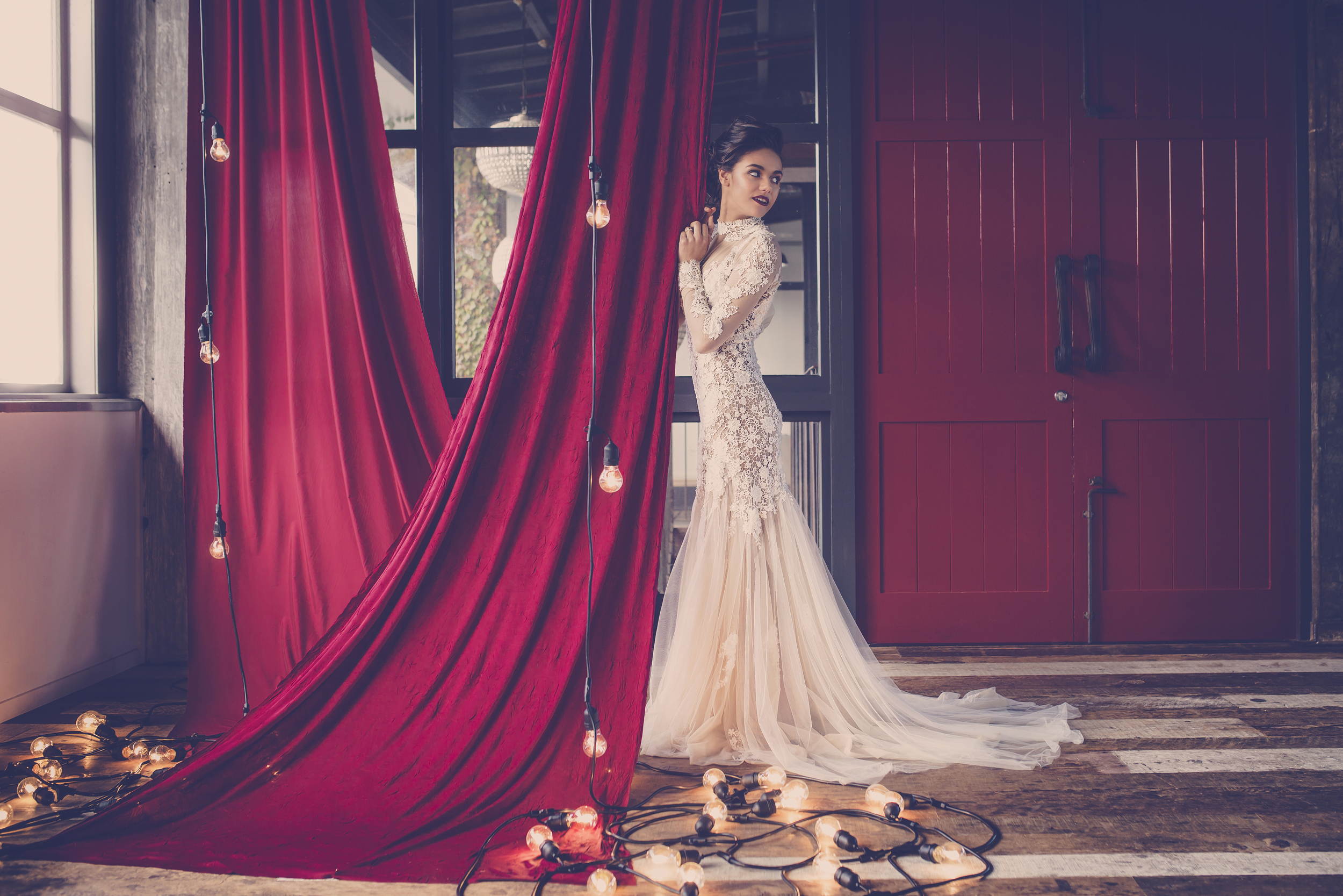 Image shot on location at The Sapphire Room for Harlow Garland by  Kate Little Photography