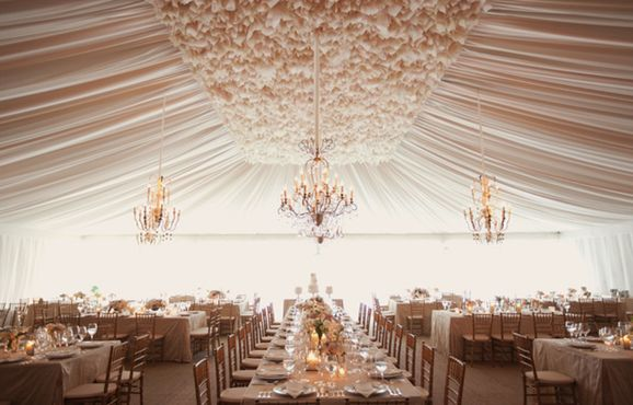 Marquee Wedding  Image via: