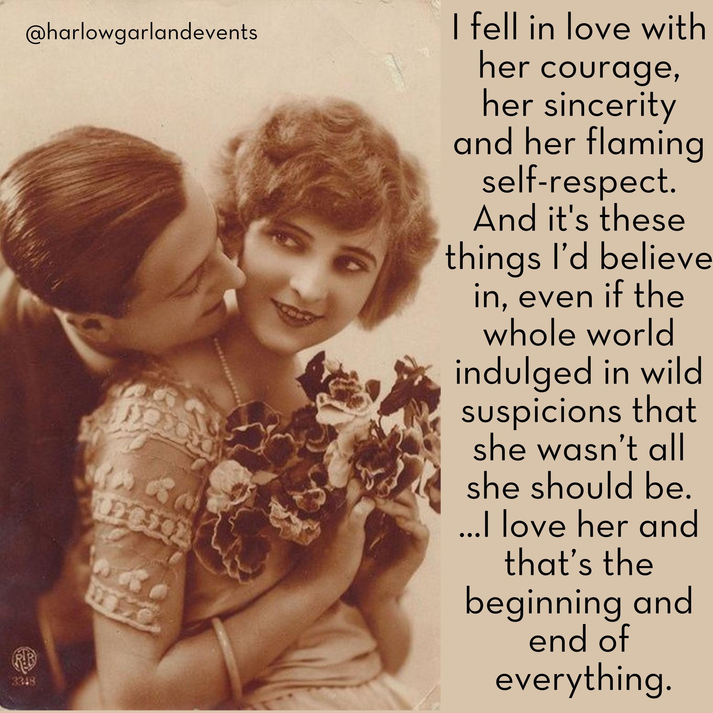 Harlow Garland #Truelovethursdays