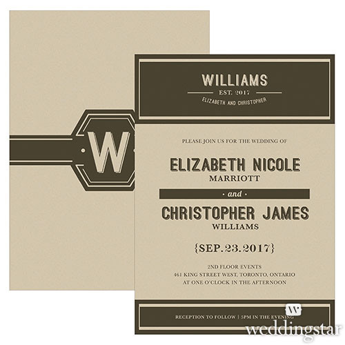 Bistro Bliss Wedding Invitation - BUY NOW