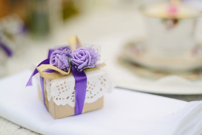 Favour boxes by Bespoke by Harlow Garland. Image by  Adelina Photography