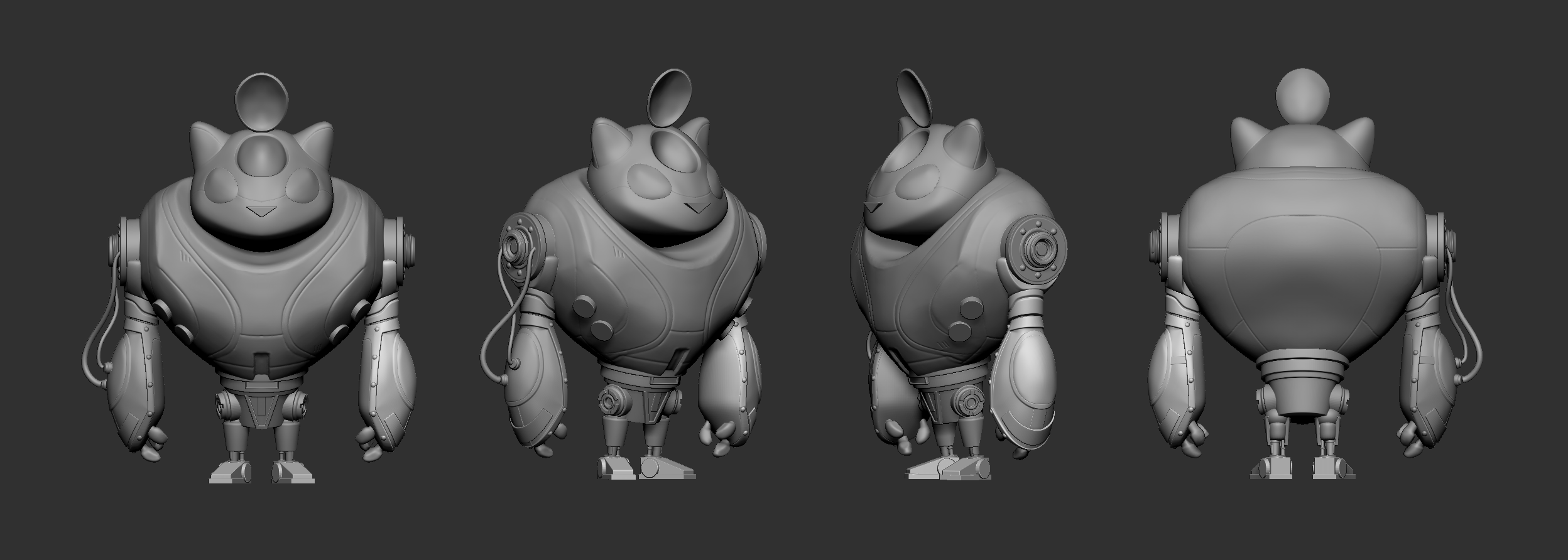 Modeling out some of the sketched ideas.