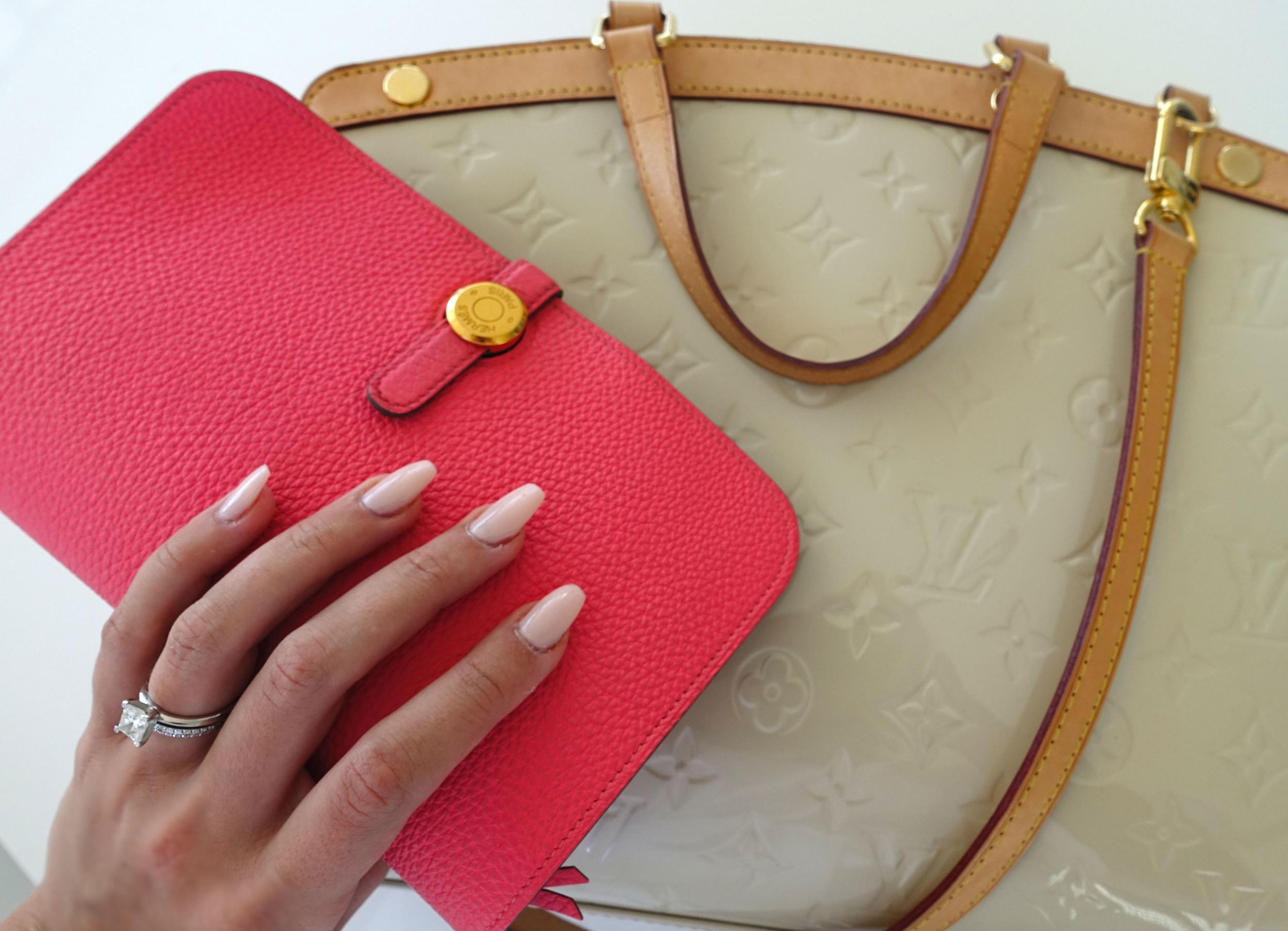 Hermes Dogon Pink Louis Vuitton