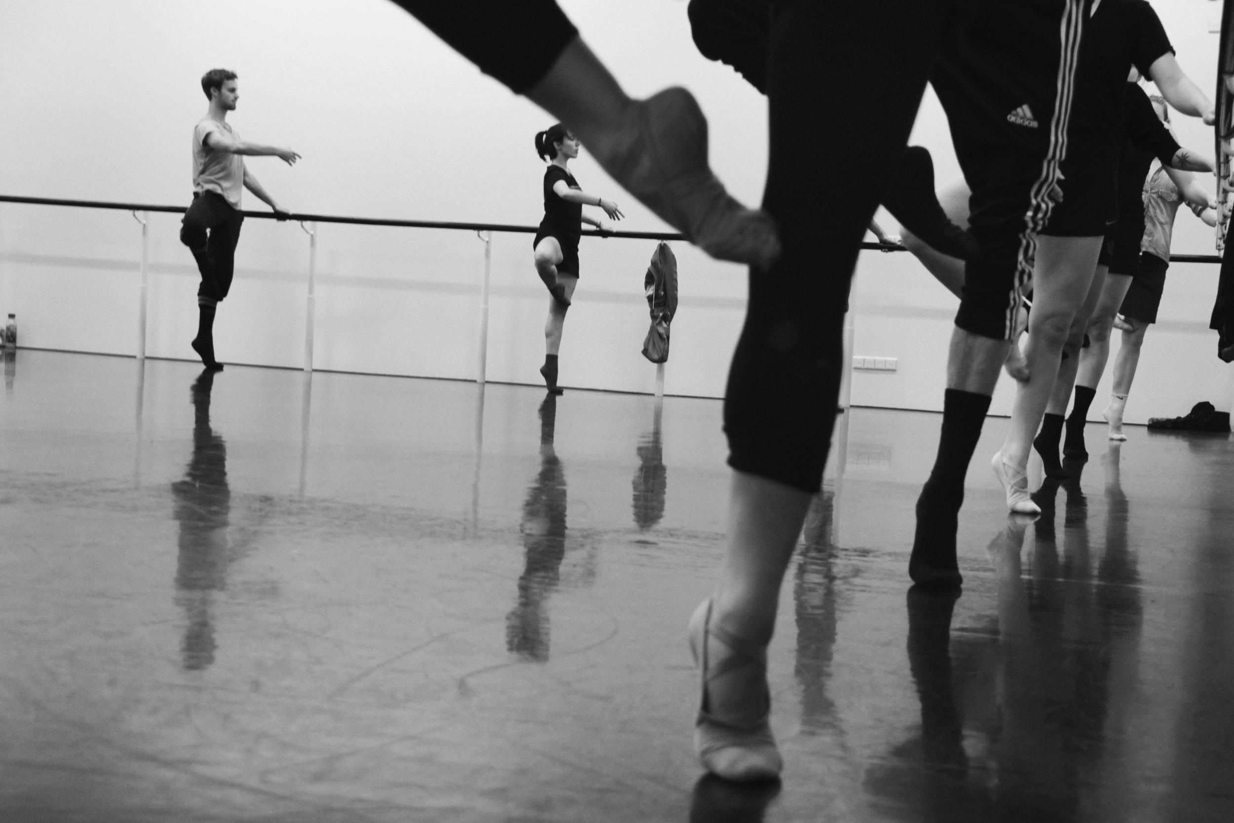 Dancers at Codarts - Rotterdam