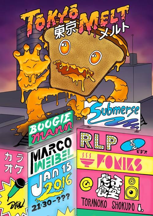 Tokyo Melt #1 flyer by Foniks