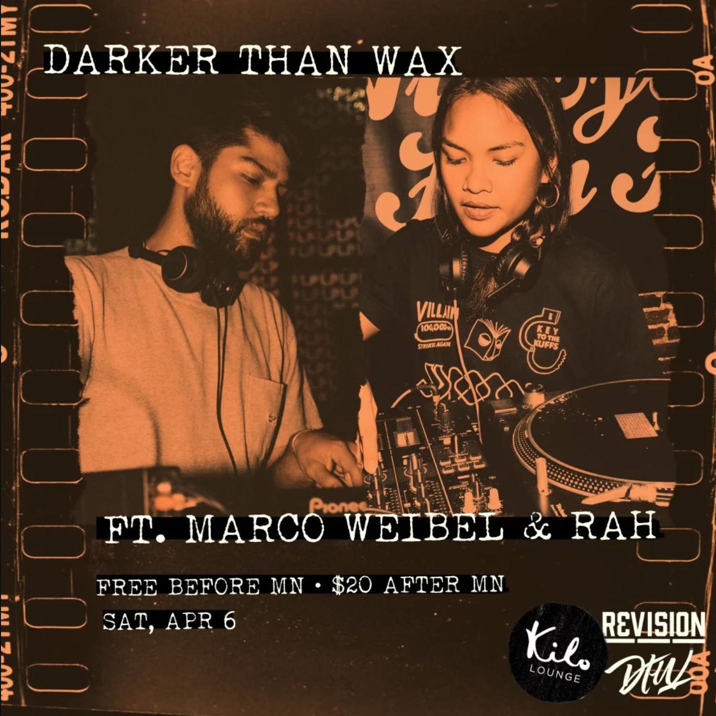 Events — Darker Than Wax