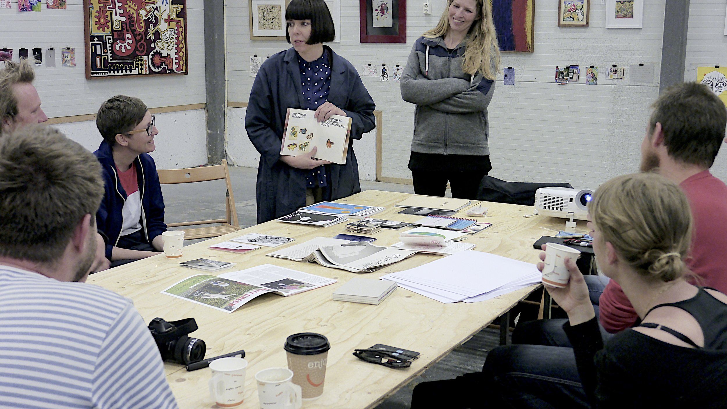 From a fanzine workshop at Trafo Kristiansand, may 2016.