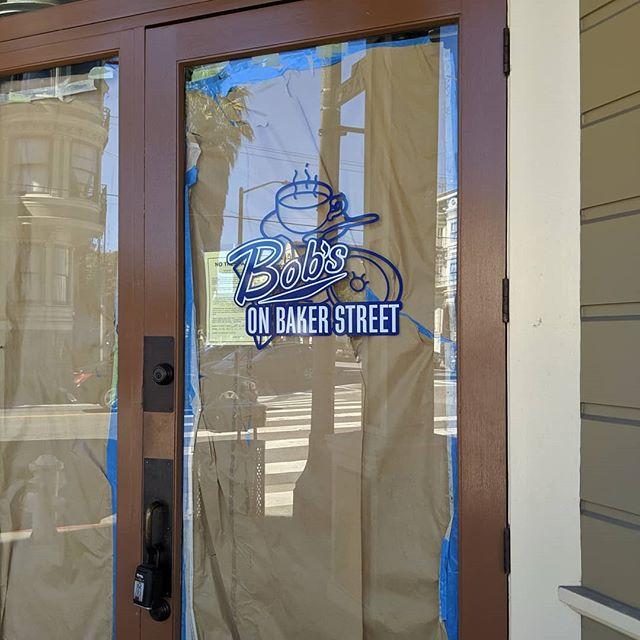 601 Baker St, coming soon!  #nationaldonutday #bobsdonuts #bobsdonutssf
