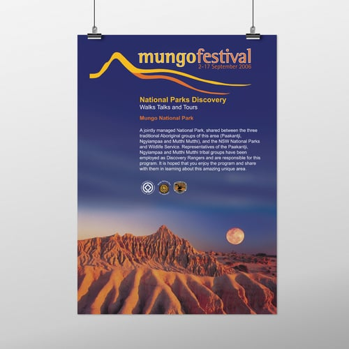 mungofestposter - haynes design