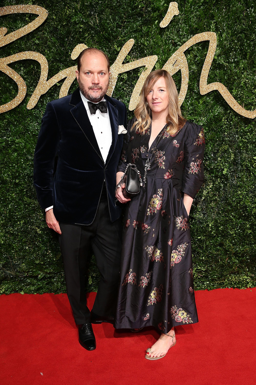 David Burton  Sarah Burton OBE attend the British Fashion Awards 2015 in partnership with Swarovski credit Mike Marsland British Fashion Council.JPG