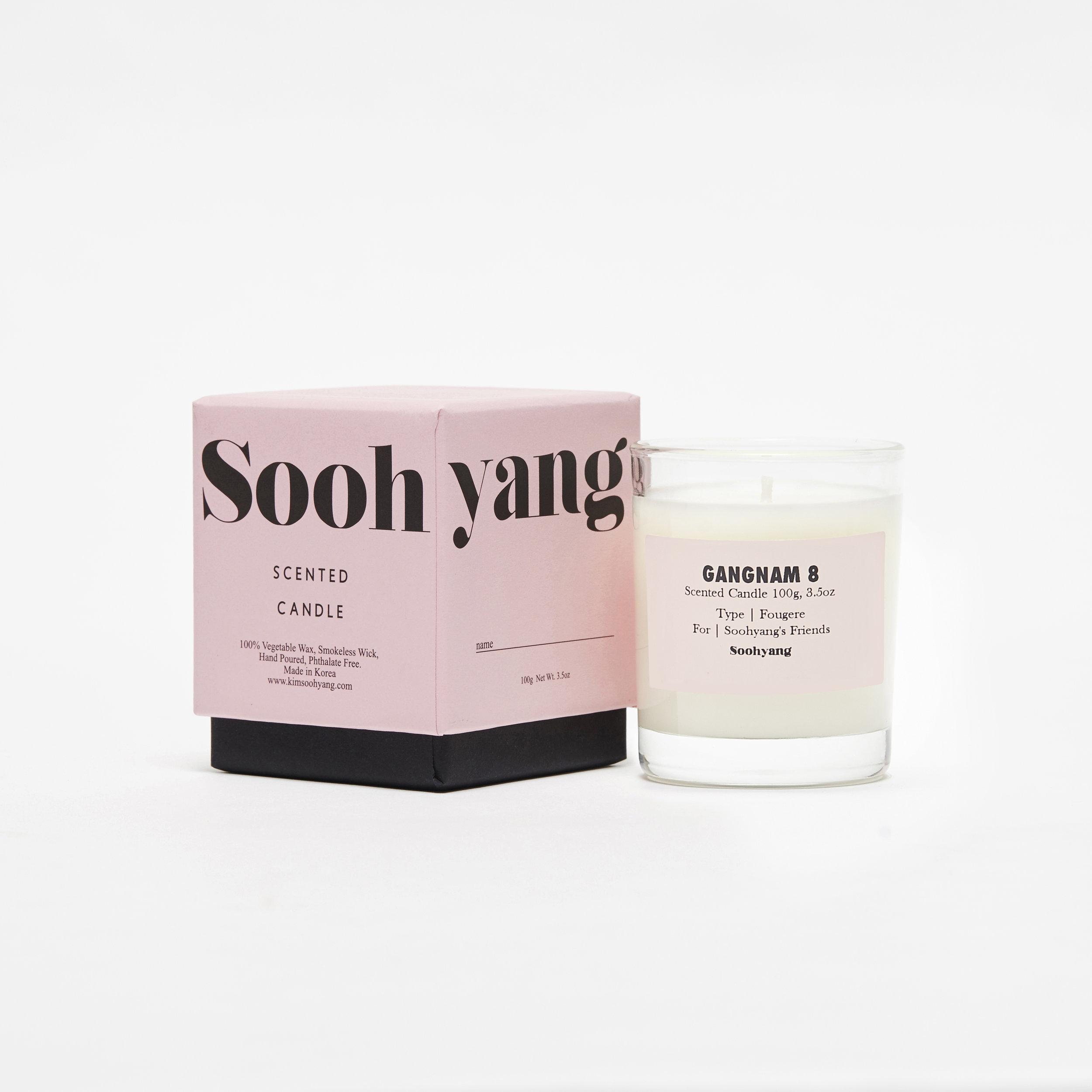 Villa Soohyang scented candle, Gangnam 8.