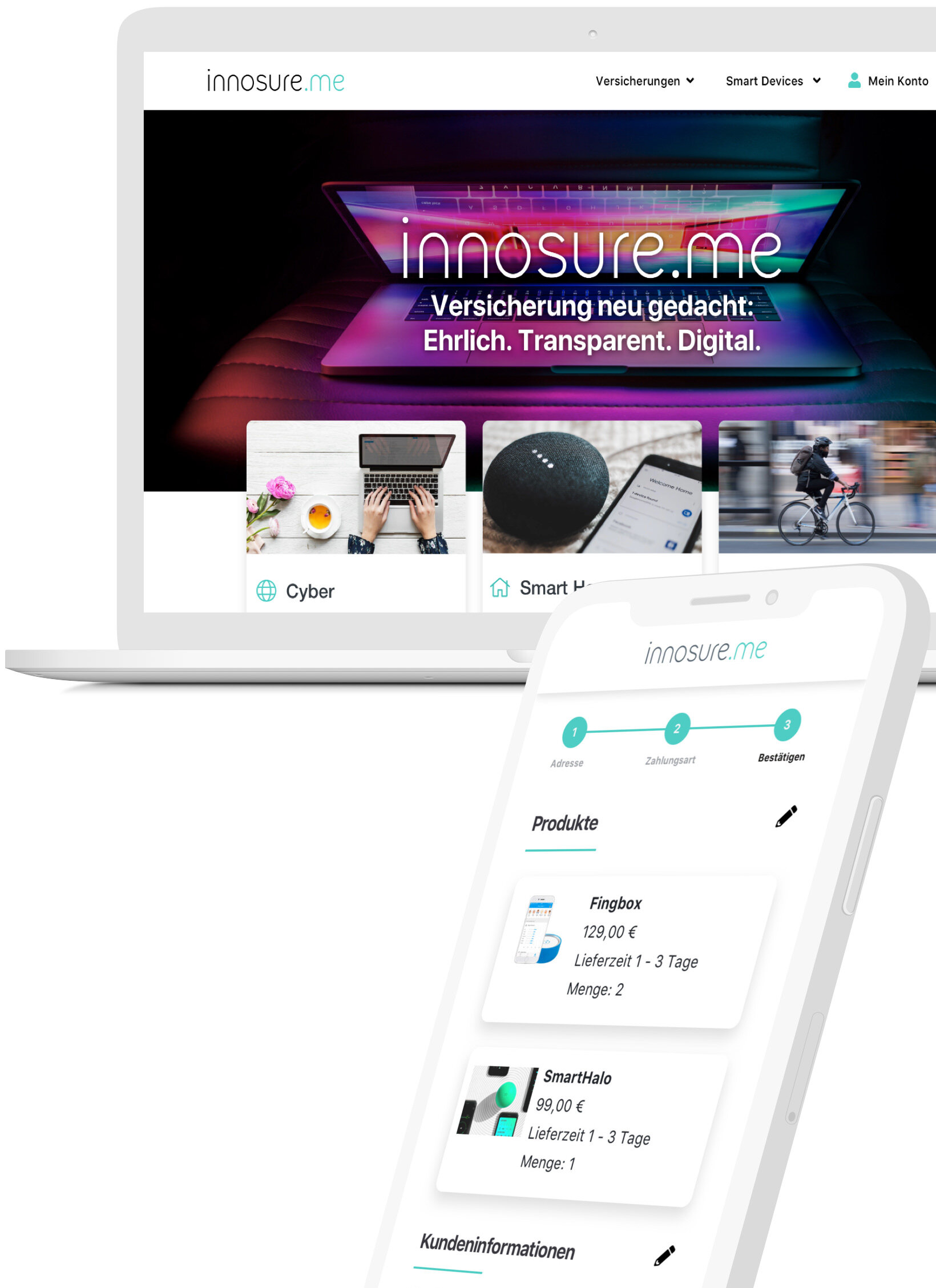 innosure.me - UX DesignStrategy & consultingPrototyping