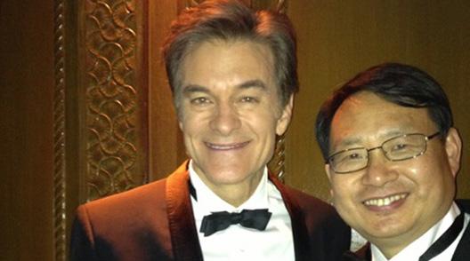 Dr. JD Yang and Dr. OZ