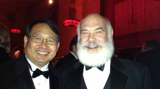 Dr. JD Yang and Dr. Weil