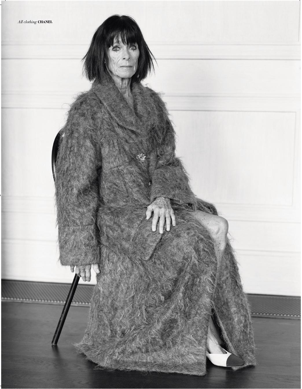 Geraldine Chaplin in Violet Issue 4 - ph. Thomas Hauser