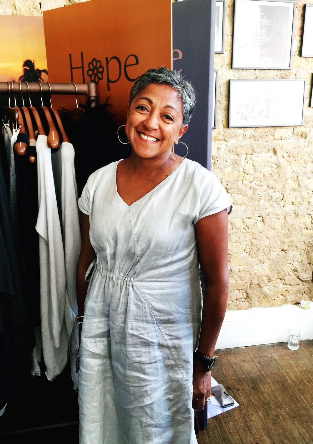 Nayna of Hope Fashion. Over 50, looking fabulous.