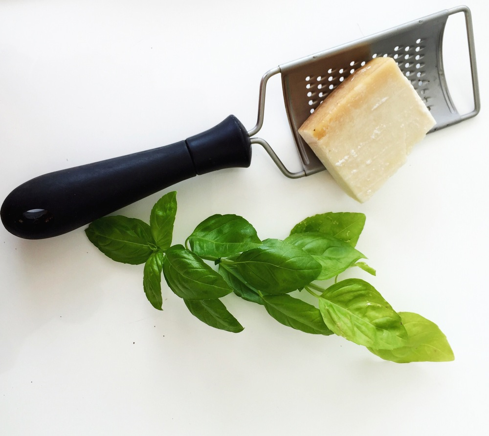 Love a bit of fresh parmesan over salad. Gives it a nice bite. Try and get rennet-free if you're vegetarian or vegan.