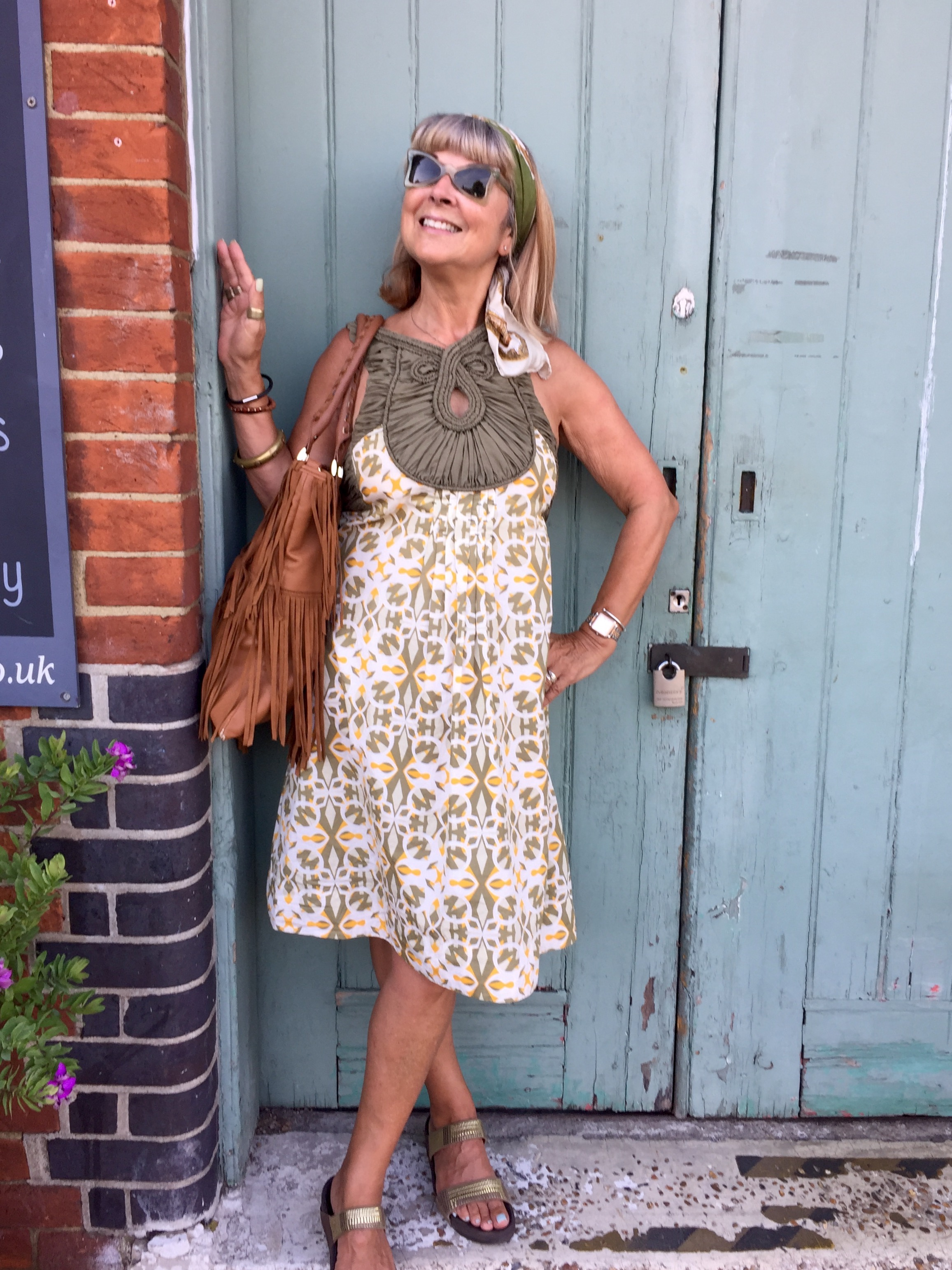 Over 50s Fashion in Rye.